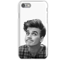 Joe Sugg (Black + White) iPhone Case/Skin