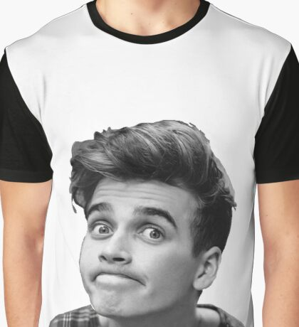 Joe Sugg (Black + White) Graphic T-Shirt