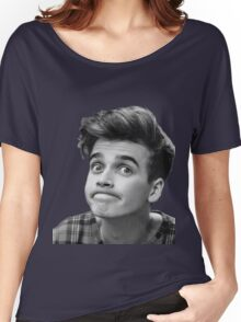 Joe Sugg (Black + White) Women's Relaxed Fit T-Shirt