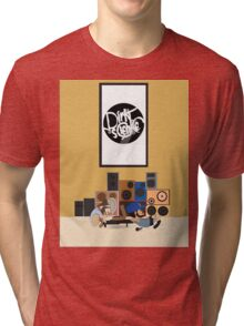 Blu & Exile Peanuts Tri-blend T-Shirt