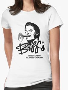 Biff's Hotel and Casino Womens Fitted T-Shirt