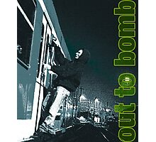 Out to bomb Photographic Print