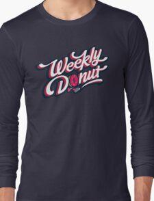 WeeklyDonut Podcast Logo Long Sleeve T-Shirt