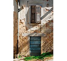 Building in Pazin  Photographic Print