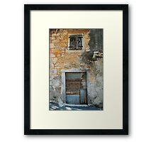 Building in Pazin Framed Print