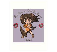 Chibi Diane Art Print