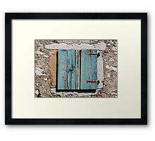 Building in Pican Framed Print