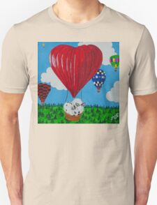 Bunny Anytime Valentines-Design One T-Shirt