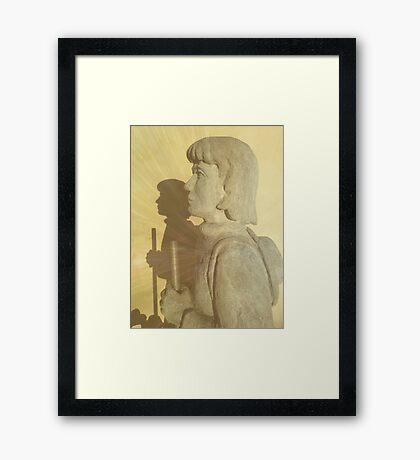 Pilgrim II Framed Print