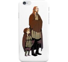 Qui Gon and Padawan iPhone Case/Skin