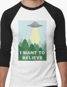 The X Files Men's Baseball ¾ T-Shirt