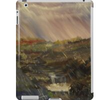 Rainstorm - God refreshing and cleaning the earth iPad Case/Skin