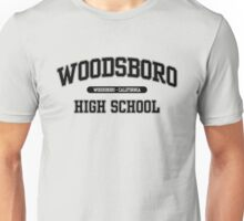 Woodsboro High School (Black) Unisex T-Shirt