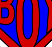 Hero, Heroine, Superhero, Super Boy Sticker