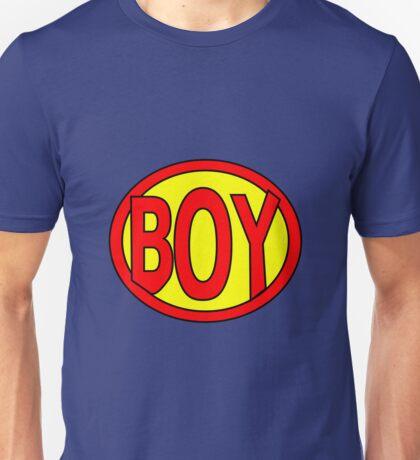 Hero, Heroine, Superhero, Super Boy Unisex T-Shirt