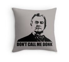 Downton Abbey Donk Robert Crawley Tshirt Throw Pillow