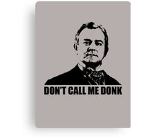 Downton Abbey Donk Robert Crawley Tshirt Canvas Print