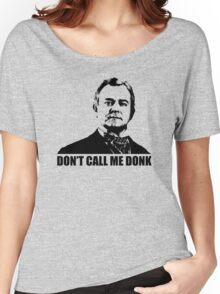 Downton Abbey Donk Robert Crawley Tshirt Women's Relaxed Fit T-Shirt