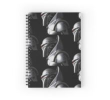 Reimagined Cylon Centurion (Pixelated) Spiral Notebook