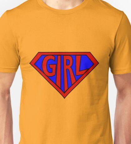 Hero, Heroine, Superhero, Super Girl Unisex T-Shirt