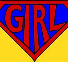 Hero, Heroine, Superhero, Super Girl by Kreativista