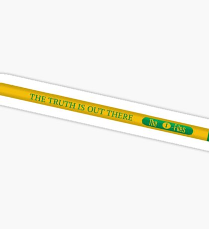 The X-Files: the truth is out there pencil Sticker