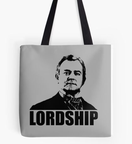 Downton Abbey Lordship Robert Crawley Tshirt Tote Bag