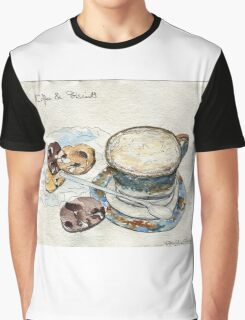 Coffee & Biscuits Graphic T-Shirt