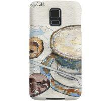 Coffee & Biscuits Samsung Galaxy Case/Skin