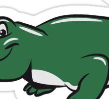 Crocodile funny naughty Sticker