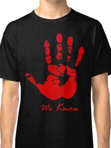 Skyrim Dark Brotherood Classic T-Shirt