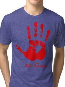 Skyrim Dark Brotherood Tri-blend T-Shirt