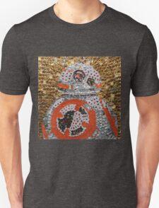 The Cute Spherical Droid - Bottle Cap Mosaic Unisex T-Shirt
