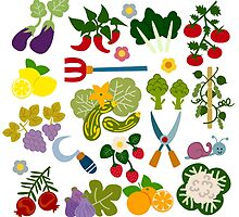 Vegetable Garden by Sonia Pascual
