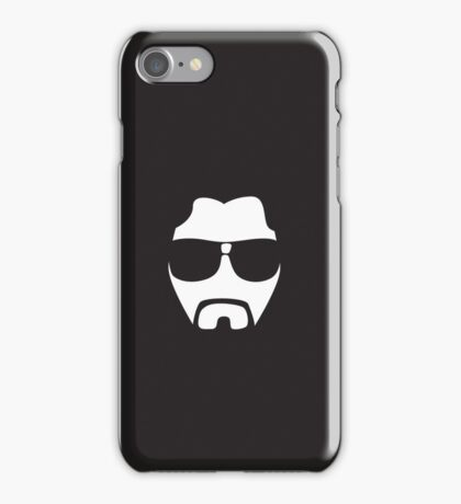 Face to face with Big Lebowski iPhone Case/Skin