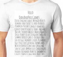 DanAndPhilGames Unisex T-Shirt