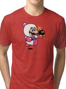 Bomber Suit Tri-blend T-Shirt