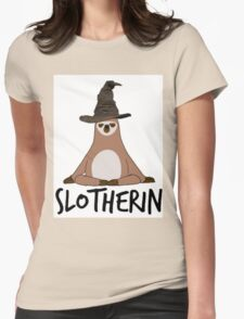 Slotherin Womens Fitted T-Shirt