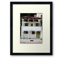 Building in Kobarid Framed Print