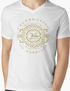 25th Wedding Anniversary Mens V-Neck T-Shirt