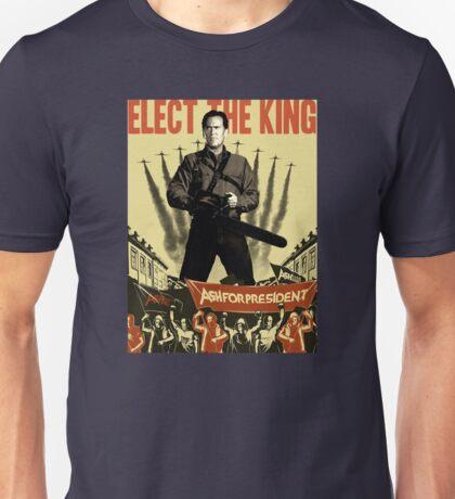 Ash for president! Unisex T-Shirt