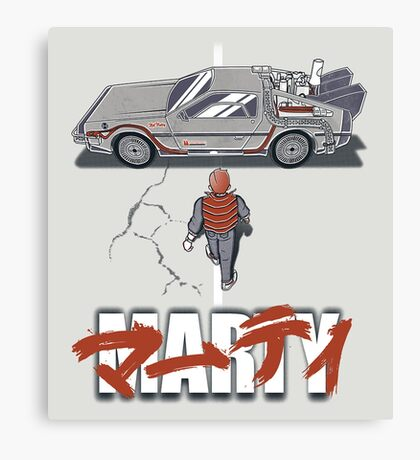 Back to the Future - Akira Canvas Print