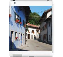 Buildings in Kobarid iPad Case/Skin