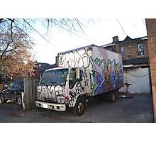 A Toronto Box Truck  Photographic Print