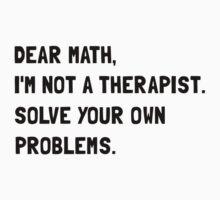 Dear Math One Piece - Short Sleeve