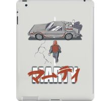 Back to the Future - Akira iPad Case/Skin