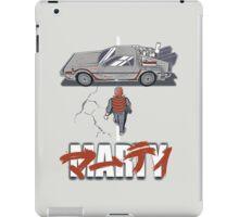 Back to the Future - Akira iPad Case/Skin