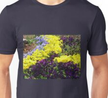 Pansy Garden Unisex T-Shirt