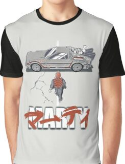 Back to the Future - Akira Graphic T-Shirt