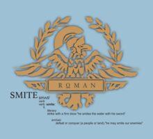 Smite inspired ROMAN by offwhitelimo